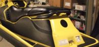 WOW JET SKI MAKE OVER - INCL. GRAPHICS, TRACTION MATS AND SEAT COVER