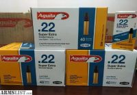 For Trade: 1,300rds of Aguila 22lr