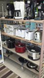 Croc Pots, Toasters, Coffee Makers