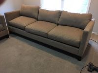 Light tan couch and matching chair EXCELLENT CONDITION!!!!