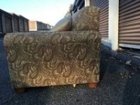 beautiful paisley sofa love seat