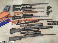 For Sale: Rifles and pistols