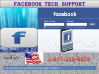 Architect of finest services: Facebook Tech Support 1-877-350-8878