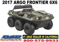 2017 Argo Frontier 6x6 Utility ATVs Sacramento, CA