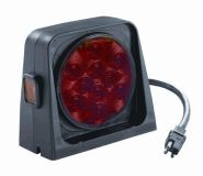 Purchase Wesbar 54209-006 Trailer Light Kit - Dual - LED - w/Amber Red w/Amber/Red motorcycle in Naples, Florida, US, for US $84.96