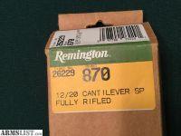 For Sale: Remington Cantilever Barrel