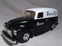 """Snap On Tools Limited Edition 1951 GMC Panel Van Truck Coin Bank 3"""" x 8"""""""
