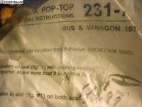 seal westfallia camper pop top camper 74 -91