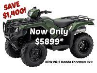 2017 Honda FourTrax Foreman 4x4 Utility ATVs Erie, PA