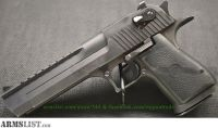 For Sale: USED Magnum Research Desert Eagle Mark XIX, .44 Magnum w/ .50 AE Barrel, Mags & Case