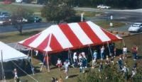 * GREAT AMERICAN LARGE POLE TENT & AIR DOME SALE! - FS! *