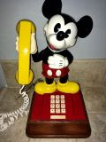 All original, works, in beautiful condition! One owner, me Disney Mickey Mouse 1976 Western Electric Touch tone phone! It's stunning!