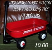 RADIO FLYER TOY WAGON