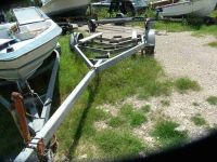 19 9 galvanized boat trailer