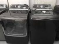 GE Washer And Dryer Set GTDS855ED0MC GTWS8655D0MC
