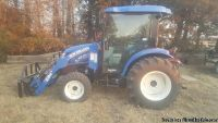 2017 New Holland 54D Tractor For Sale in Buhler, Kansas 67522