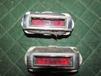 Buy 1969 Chevy Malibu rear marker lights vintage hot rod rat rod gasser #556C motorcycle in Joliet, Illinois, United States, for US $25.00