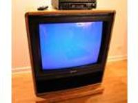 FREE 35 INCH Mitsubishi Console Color TV CK-3514R