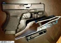 For Sale: Glock 30s w/ Crimson trace light/lazer, Custom IWB/OWB holster, night sights,