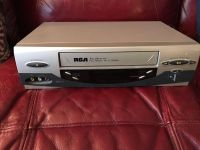 Rca vcr with power and video cables no remote
