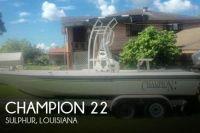 2002 Champion 22 TUNNEL CHAMP