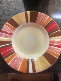 Set of four pottery barn plates