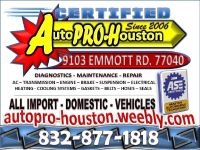 Transmission and Engine Diagnostics and Repair in Jersey Village TX