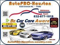 Auto Repair Shop Houston TX in Harris County