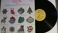 elvis presley sings the wonderful world of christmas lp anl1-1936