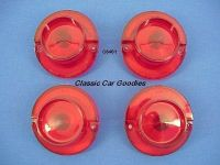 Buy 1964 Chevy Tail Light Lenses. Impala. New Set of 4! motorcycle in Aurora, Colorado, US, for US $24.99