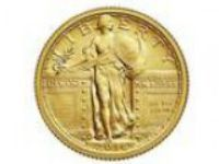 NEW Standing Liberty SOLID GOLD Quarter (Lakewood)