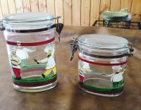 Chef Kitchen glass containers