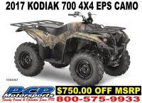 2017 Yamaha Kodiak 700 EPS Utility ATVs Sacramento, CA
