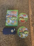 LeapFrog Talking Words Factory DVD with FREE Learn to Read DVD that needs resurfacing $2.00.