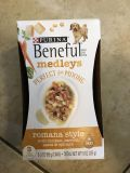Puritan Beneful Medleys Romana Style with chicken, carrots, pasta, and spinach- 3 3oz cans