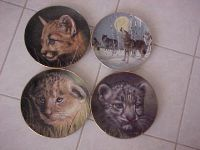 Big Cats Plates