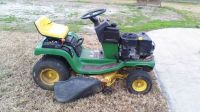 john deere stx-38 riding lawnmower