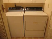WHIRLPOOL MATCHING WASHER AND ELECTRIC DRYER