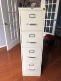4-Drawer, locking file cabinet. Great condition