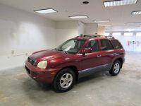 2002 Hyundai Santa Fe GLS 2WD Auto V6