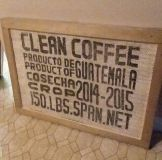 (LARGE) COFFEE SIGN....EXCELLENT CONDITION