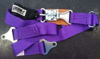 "Buy CROW 2'' Individual Latch & Link Lap Belt 50"" Purple Bolt In-Rat Rod Sandrail motorcycle in Las Vegas, Nevada, United States, for US $45.56"