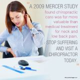 Effective Treatment for Chronic Back Pain - CHIROPRACTIC CARE
