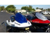 set of 2006 Kawasaki stx jet skis -