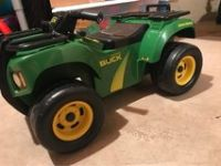 John Deere Buck ride on