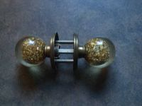 Golden door knobs