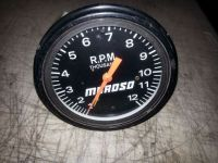 Buy Moroso cable driven tachometer vintage restoration hot rat rod racing motorcycle in Joliet, Illinois, United States, for US $150.00