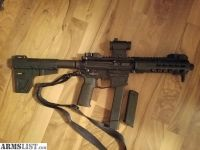 For Sale: AR-15 pistol takes Glock mags 40 cal