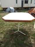 Table*Heavy Duty*Steel Legs*Has Leaf*Lower Price