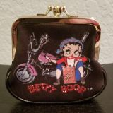 Betty Boop Coin Purse. Decoration is the same on both sides (posted pics of front and back). In excellent condition. No longer Collecting.